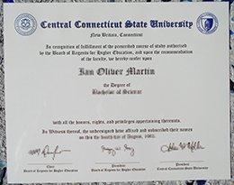 CCSU diploma