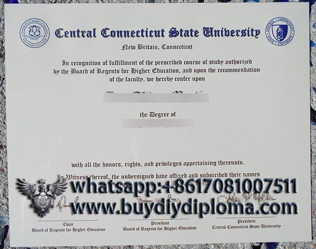 CCSU degree
