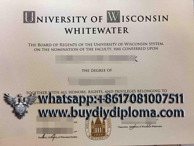 University of Wisconsin–Whitewater diploma