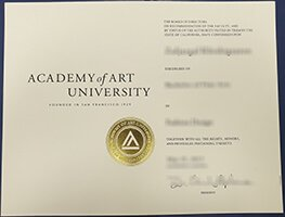 Academy of Art University degree