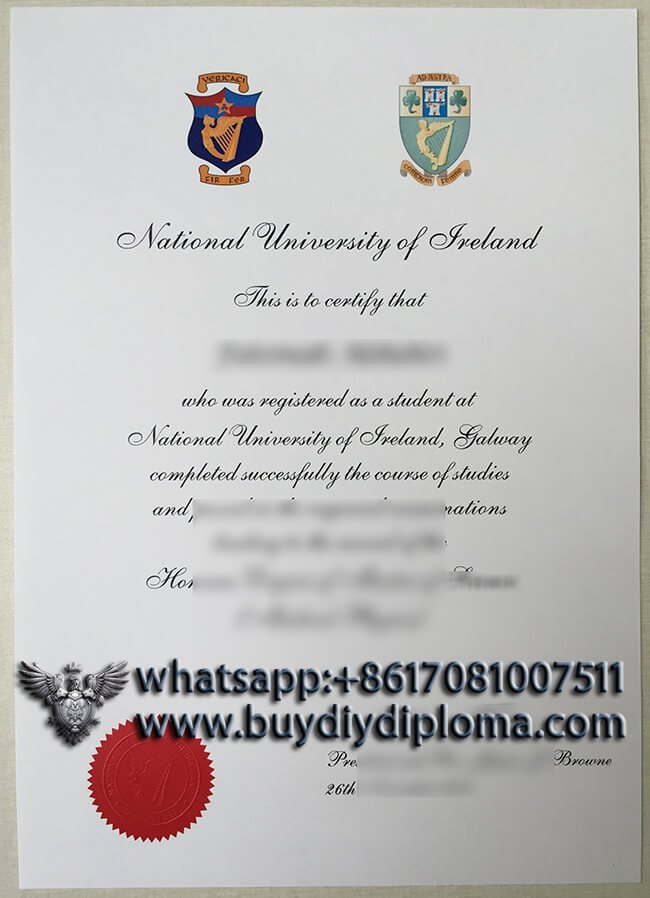 National University of Ireland diploma