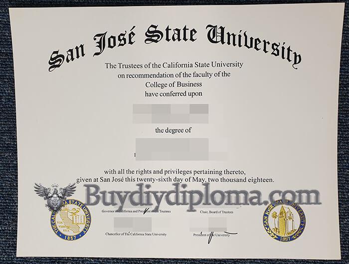 buy fake SJSU diploma? order a fake San Jose State University degree