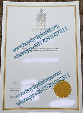 Central Queensland University diploma with Borders