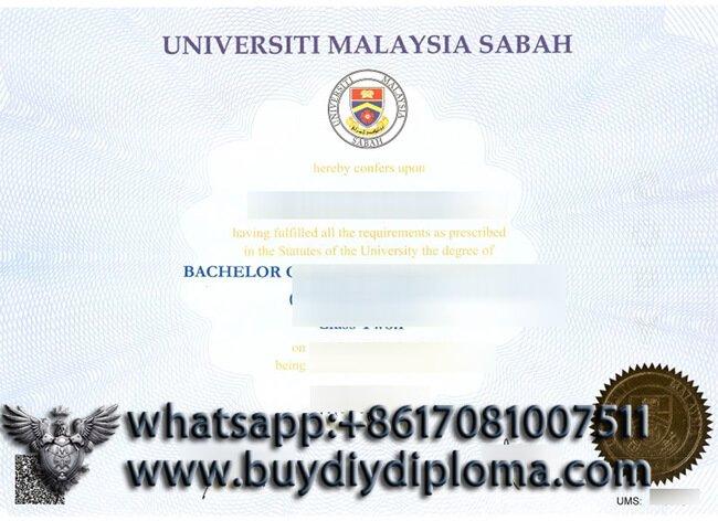 buy Universiti Malaysia Sabah diploma? Buy UMS fake diploma