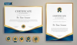 buy certificate