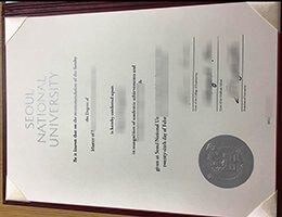 Seoul National University diploma