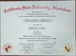 CSU Stanislaus fake degree