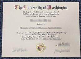 University of Washington degree