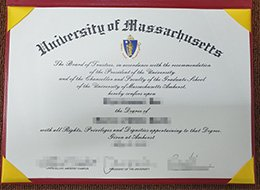 University of Massachusetts degree