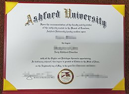 Ashford University degree