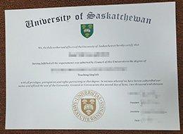 University of Saskatchewan degree