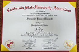 fake California State University Stanislaus degree