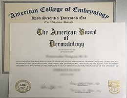 ABMS certificate