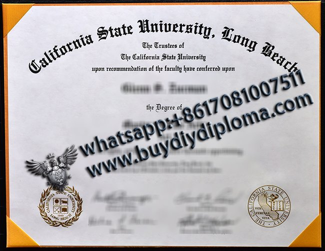 California State University Long Beach diploma, CSU degree, buy fake diploma online