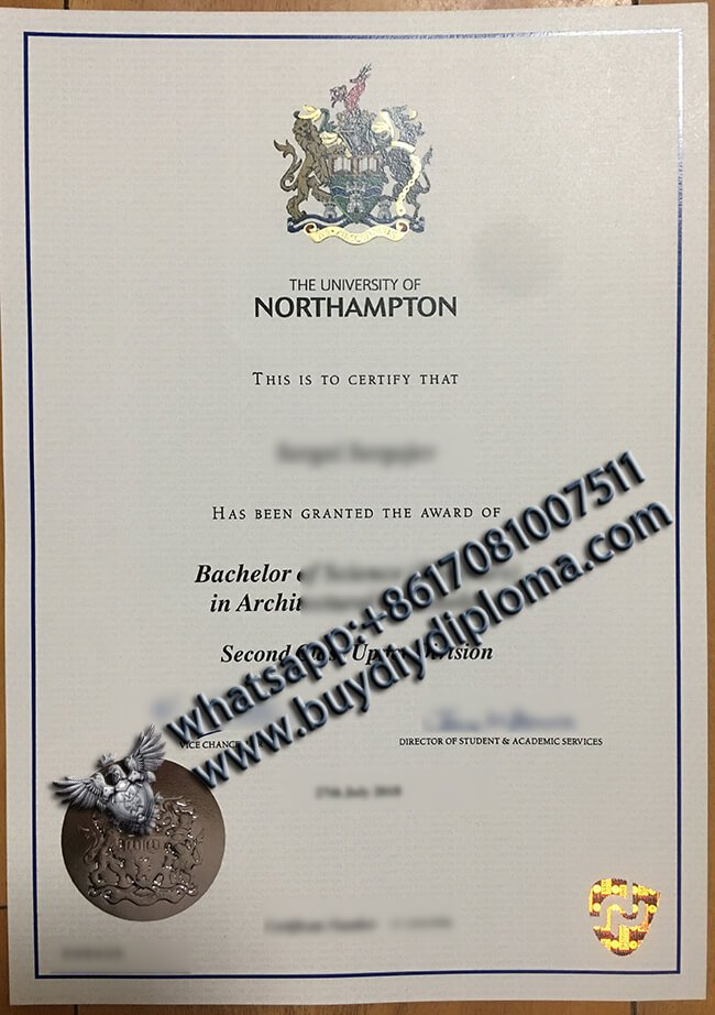 University of Northampton degree
