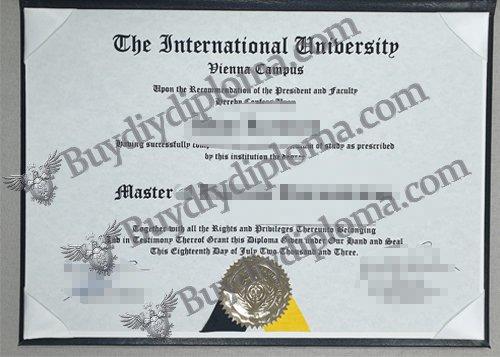 fake International University diploma, fake IU diploma