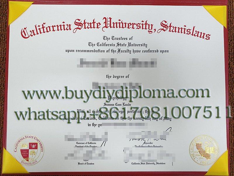 Buy a Fake California State University, Stanislaus degree, CSUS diploma