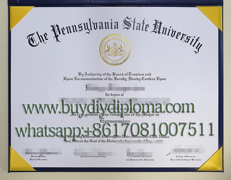 How much to buy a fake Pennsylvania State University degree online
