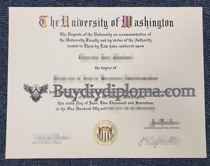 Do you need a fake University of Washington degree