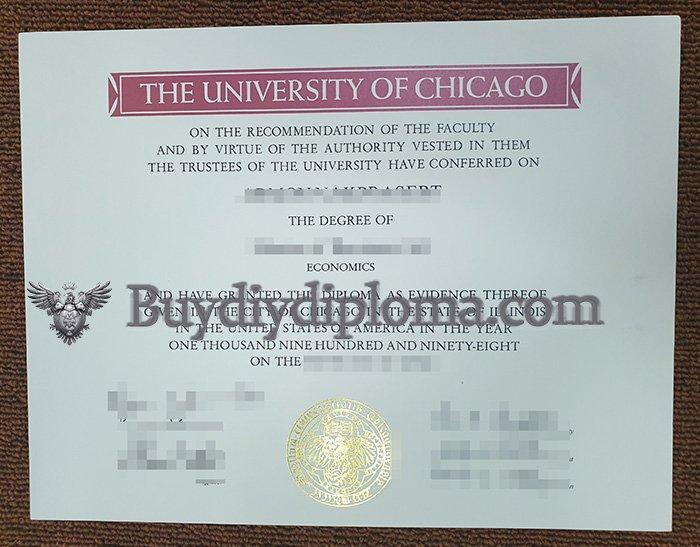 University of Chicago degree online