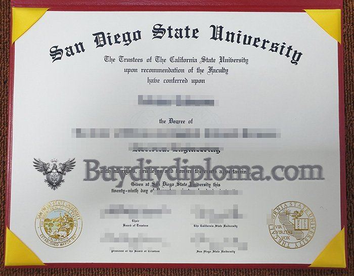 buy a fake San Diego State University degree online