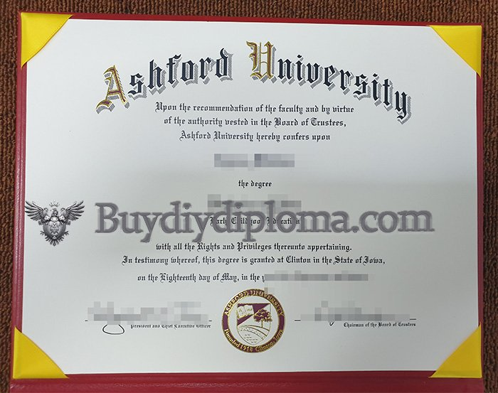 fake Ashford University degree