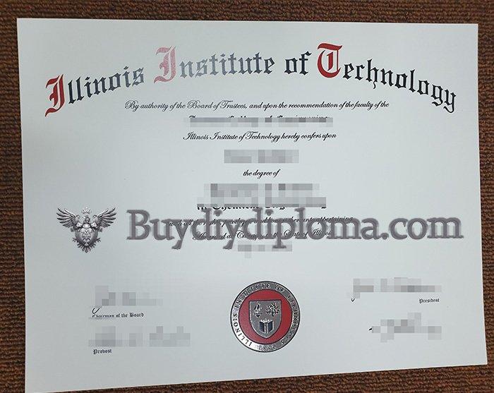 fake Illinois Institute of Technology degree