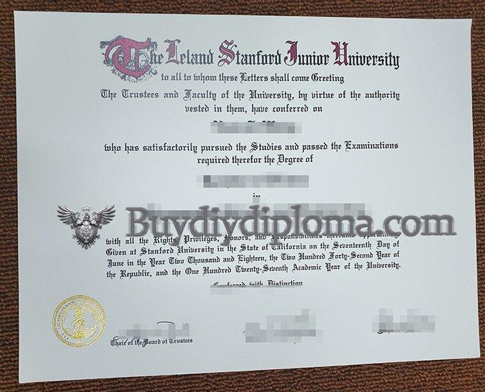 fake Stanford University  degree