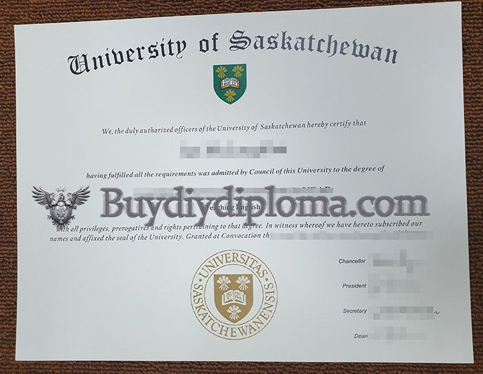 fake University of Saskatchewan degree