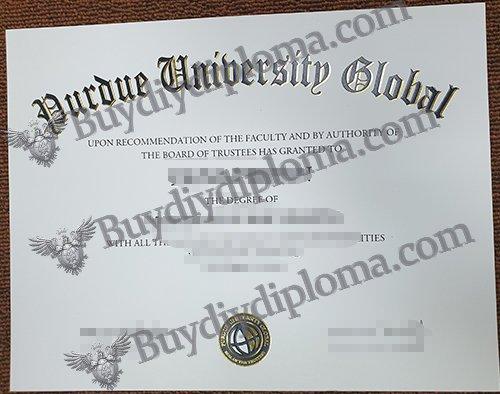 Purdue University Global diploma