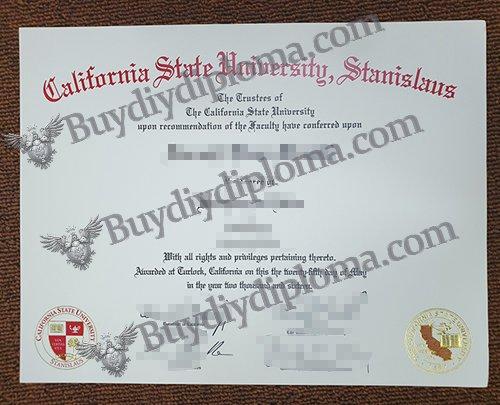 fake CSU Stanislaus diploma, fake CSU Stanislaus degree,