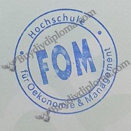 FOM certificate