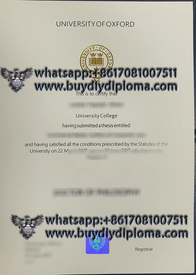 Buying a fake University of Oxford diploma. Make fake degree
