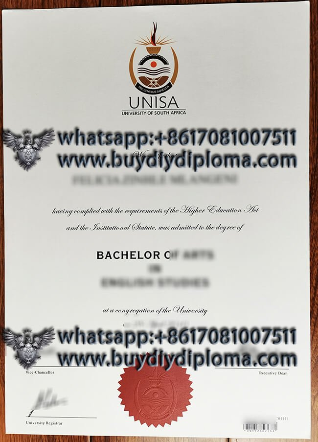 UNISA Fake degree, How to Buy South African Diploma?