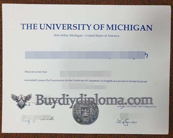 University of Michigan fake diploma maker. Buy fake diploma online