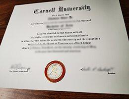 Cornell University diploma