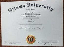 Ottawa University diploma