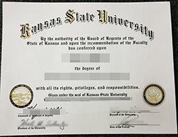 Kansas State University diploma
