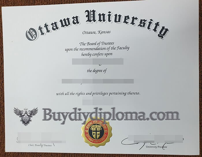 University of Ottawa diploma