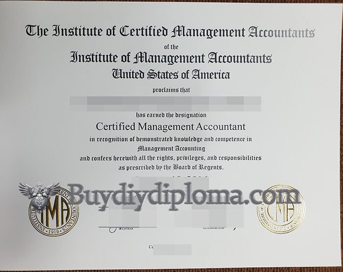 Buying Fake CMA Certificate, How To Get the Certified Management Accountant Diploma?