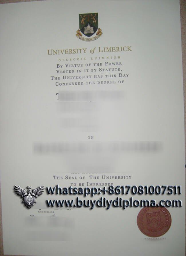 University of Limerick diploma