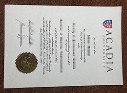 fake Acadia University diplom, fake Acadia University degree