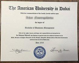 American University in Dubai diploma, fake AUD diploma, fake Dubai diploma,