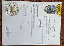 Apostille Convention certificate