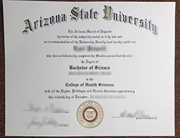 Arizona State University fake diploma
