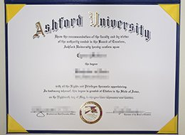 Ashford University diploma