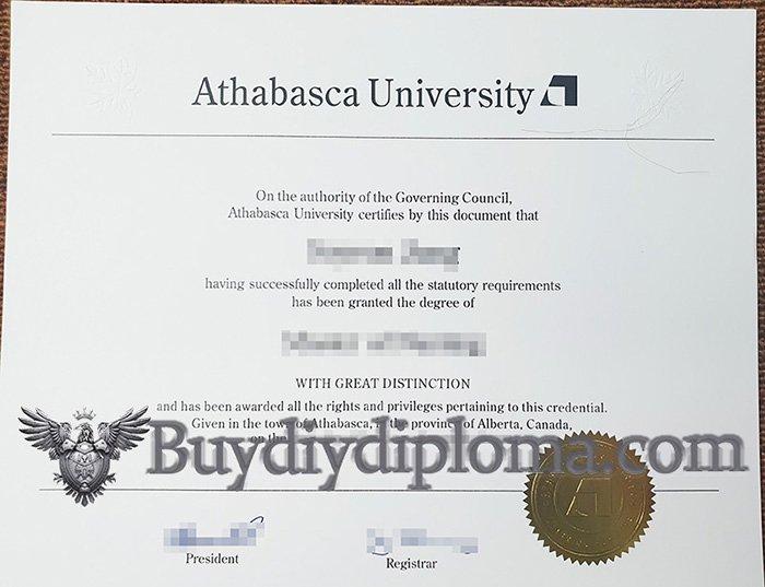 buy fake Athabasca University diploma in Canada