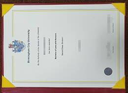 Birmingham City University fake degree