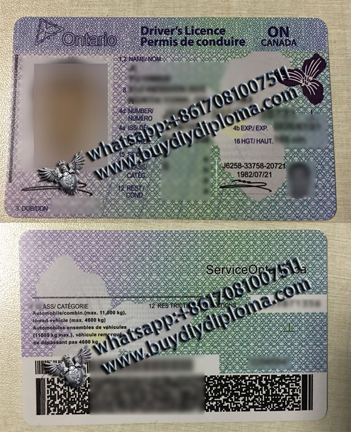 Easy steps to get a fake Canada driver license, fake Canada certificate