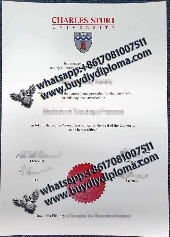 fake Charles Sturt University diploma, buy Charles Sturt University degree, fake CSU diploma,